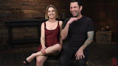 Kristen Scott: Bondage Slut Powerfucked Into Massive Twitching Orgasms