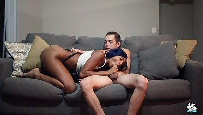 Hot Ebony Teen Gets Fucked Hard By Her Boyfriend
