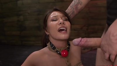 Flannel hungry whore Mena Mason swallows the entirety unearth and his jizz
