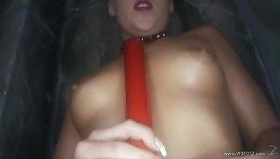 Deep dildo sex has duo kinky lesbians moaning in joy