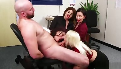Milking Hot Big Stud in be passed on Office
