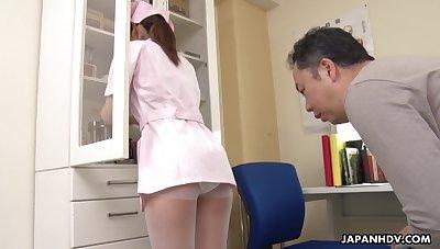 The pressure increased because of Japanese pretty young heedfulness Anna Kimijima