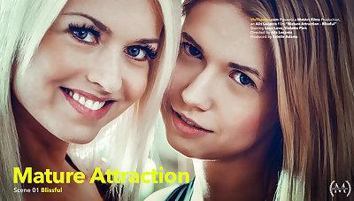 Mature Attraction Punt 1 - Blissful - Lena Dote on & Violette Pink - VivThomas
