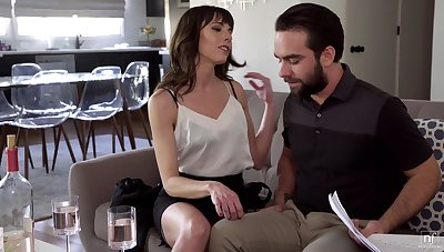 Married man finally becomes Vera's lover and that MILF knows how to fuck