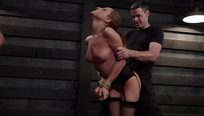 Discouraged MILF receives harsh treatments for both her love holes