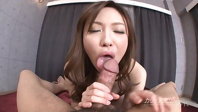 Aiko Hirose bukkake orgy - JAV, japanese, uncensored, stockings, petite, pov, blowjob