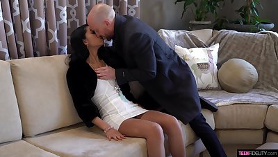 Astonishing newborn Jada Doll is fucked and creampied overwrought hot blooded married sponger