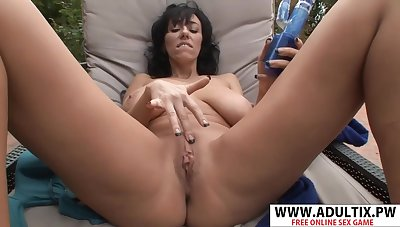 Hottie Step-mom Alia Janine Gets Nailed Sweet Young Friend