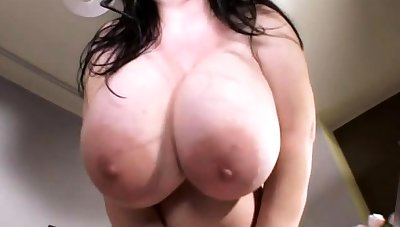 Big boob milf no-see-em off instruction