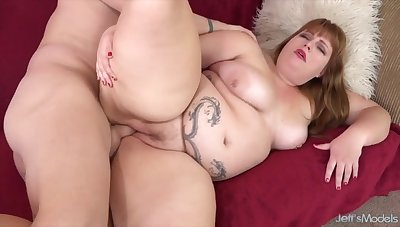 BBWs enjoy taking hard dicks in their buxom pussies and getting fucked in many positions