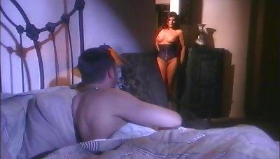 Retro sheet of astonishing pornstar Sydnee Steele getting fucked hard