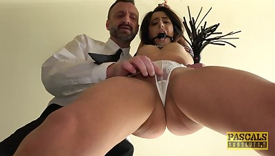 Submissive girl gets the dick harder than ever thought